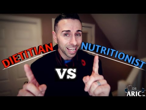 DIETITIAN vs NUTRITIONIST: What's the difference?/Dr. Aric