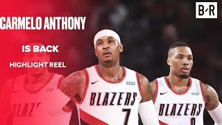 Carmelo Anthony Signs With Portland Trail Blazers | Highlight Reel