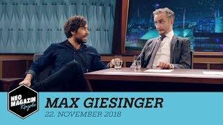 Max Giesinger zu Gast im Neo Magazin Royale mit Jan Böhmermann - ZDFneo