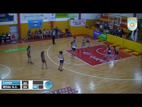 Argentino U13 Femenino de Clubes: Atlético Lanús vs Wilde Sporting Club