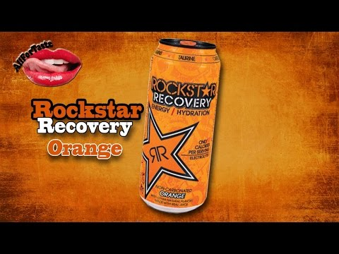 Energy Drink Project - Rockstar Recovery Orange
