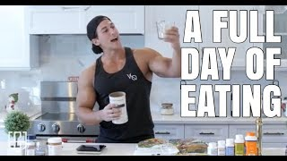 A FULL DAY OF EATING - 12 WEEKS OUT