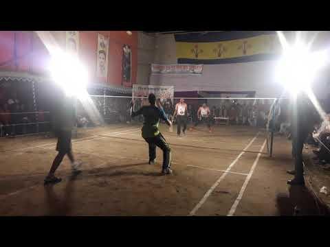 Savar Upazila Chairmancup Badminton Tournament 2019-20 [ Khalid+Shohel Vs Poros+ Lal Chand ]