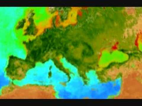 Climate Change In Europe from 1997 to 2003