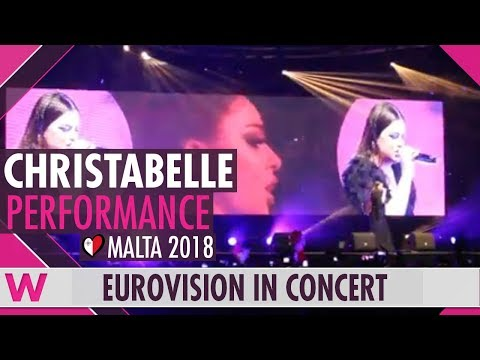 "Christabelle ""Taboo"" (Malta 2018) LIVE @ Eurovision in Concert 2018"