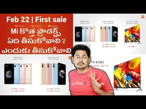 Mi launch event: Redmi Note 5, Redme Note 5Pro, Mi 4K LED TV || in telugu || Tech-Logic