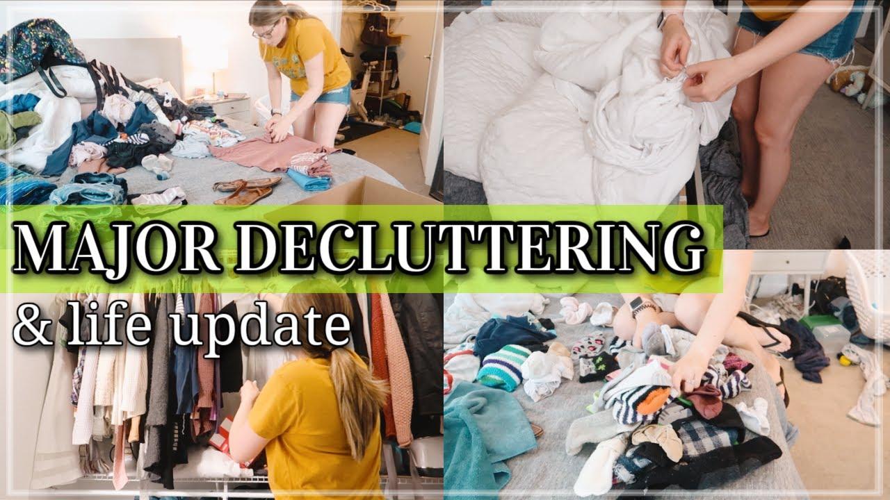 EXTREME CLEAN, DECLUTTER, & ORGANIZE WITH ME 2021 / KONMARI DECLUTTERING & FOLDING MOTIVATION