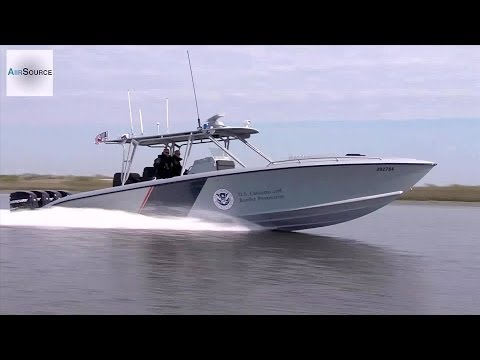 "World's Fastest Law Enforcement Boat - 1200HP ""Midnight Express"""