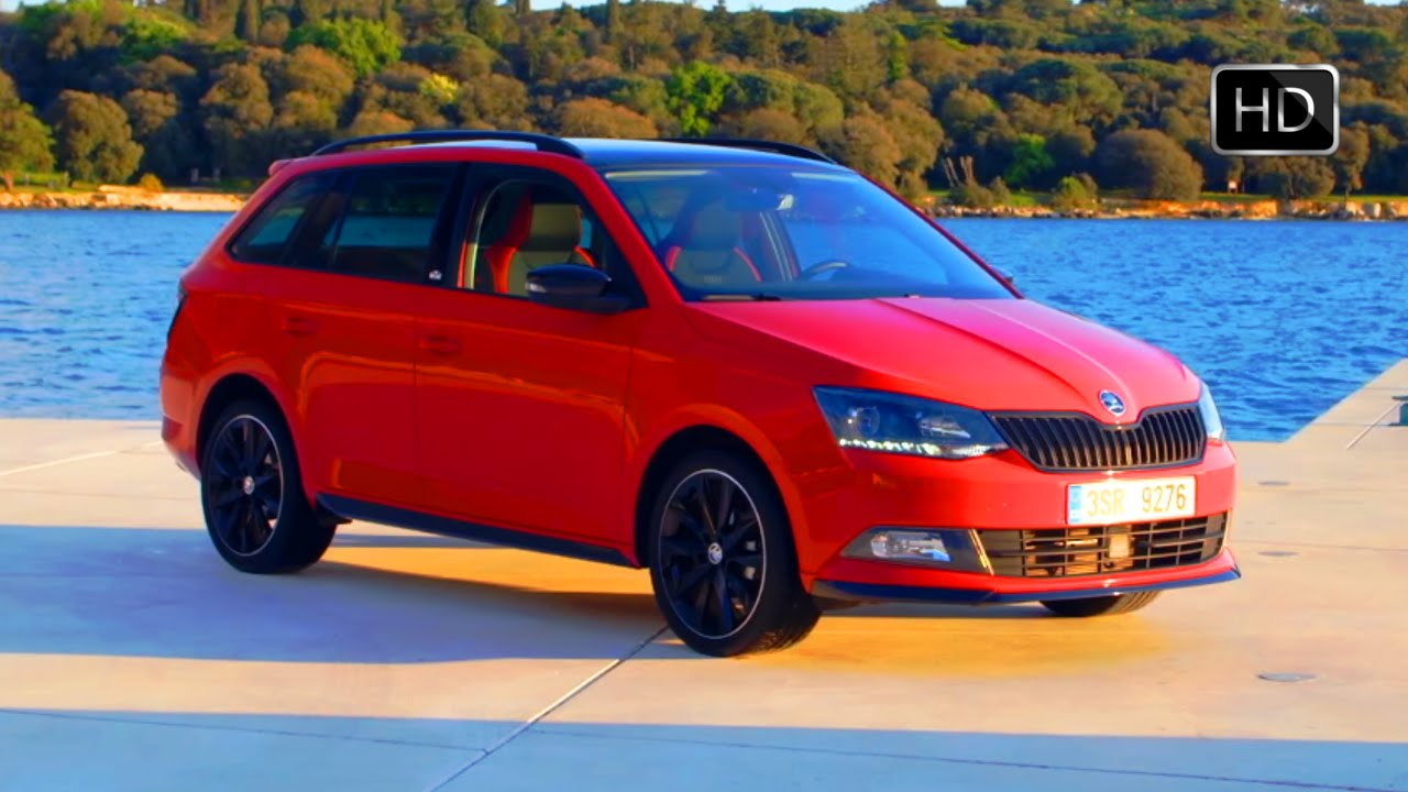 2016 skoda fabia estate monte carlo red exterior interior road drive hd video youtube. Black Bedroom Furniture Sets. Home Design Ideas