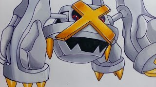 Prismacolor speed Shiny Metagross