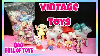 Cute Vintage Toys/ Adult Toy Collector