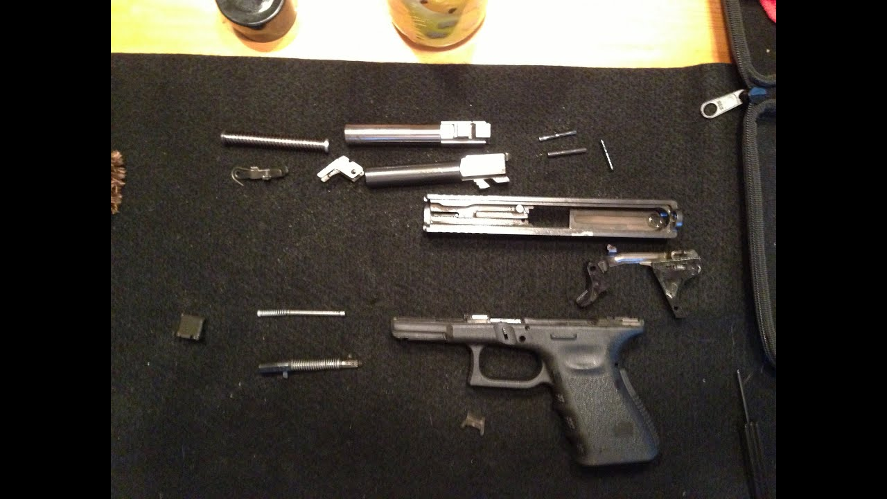 hight resolution of how to break down a glock 23 total disassembly