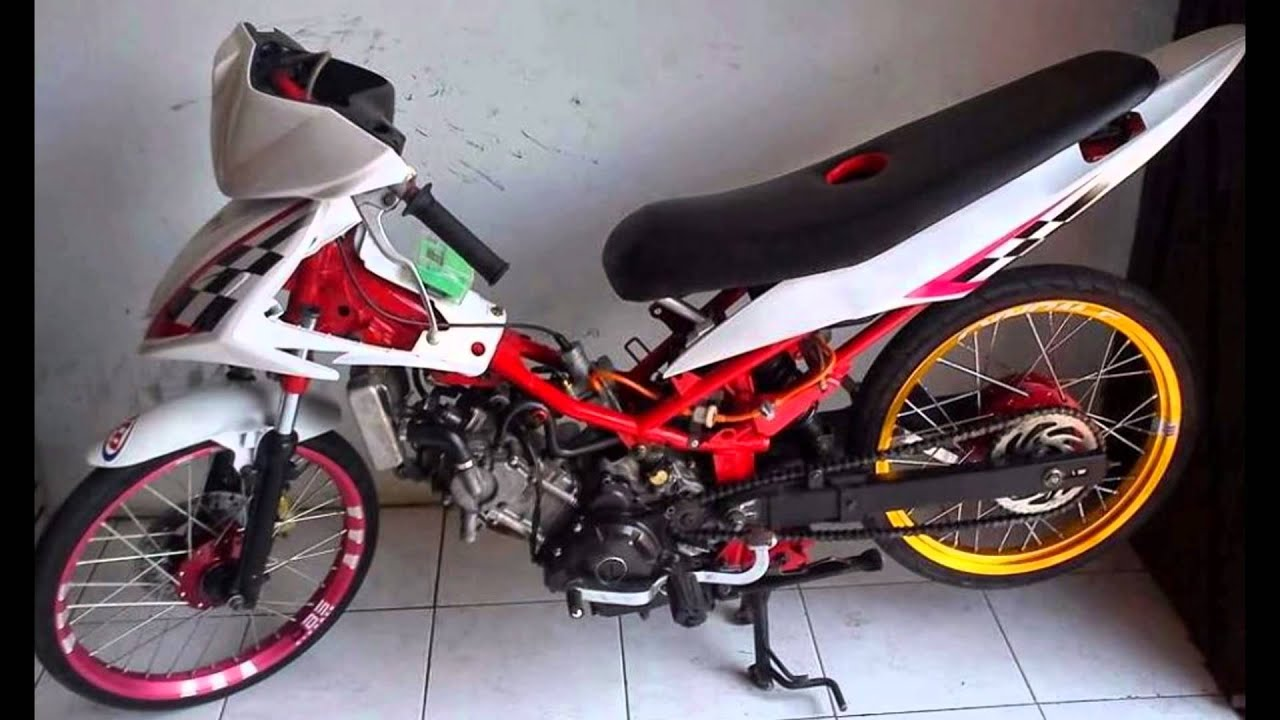Motor Trend Modifikasi Video Modifikasi Motor Yamaha Jupiter MX