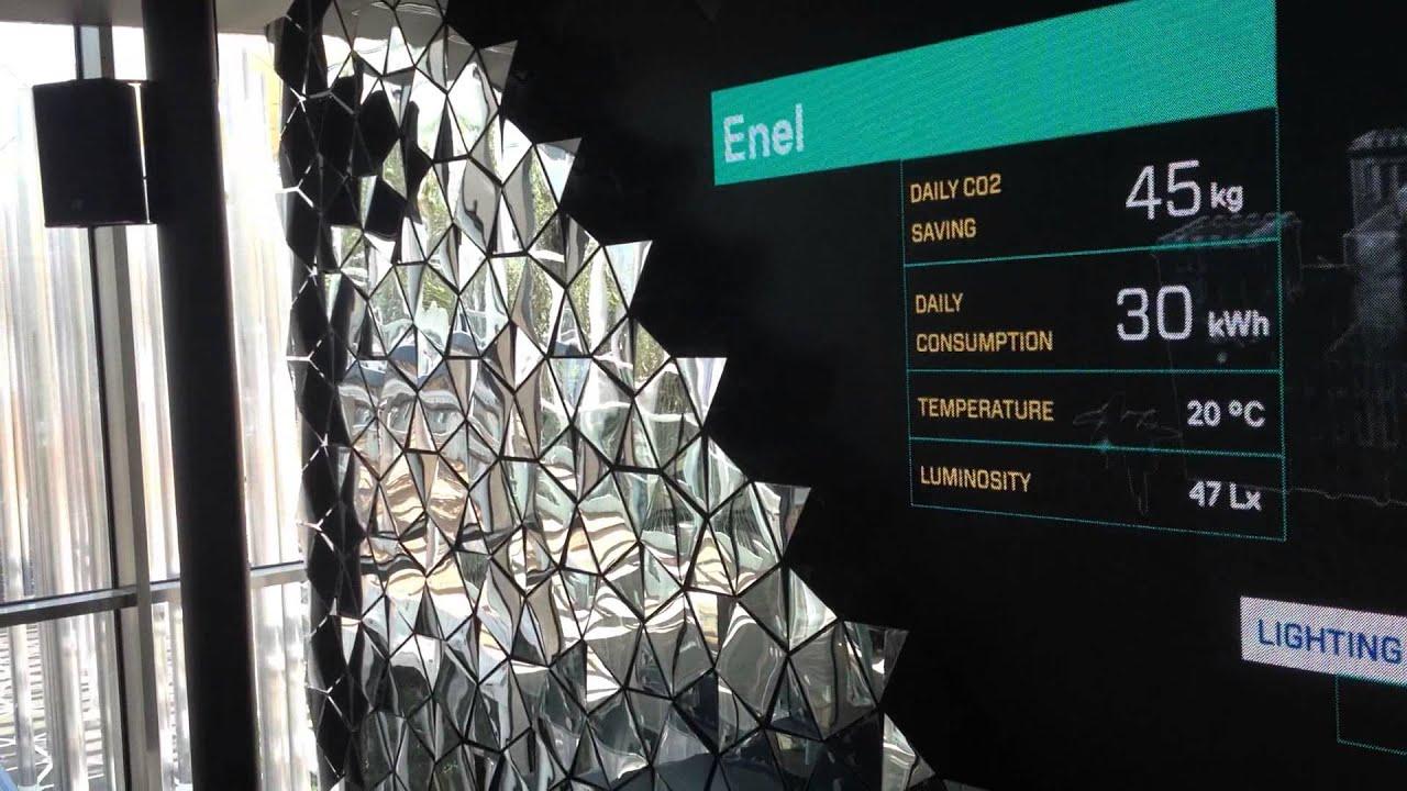 Expo 2015 Stand Enel : Expo padiglione dell enel youtube