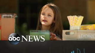 Little 6-year-old girl's big pursuit to helping those in need