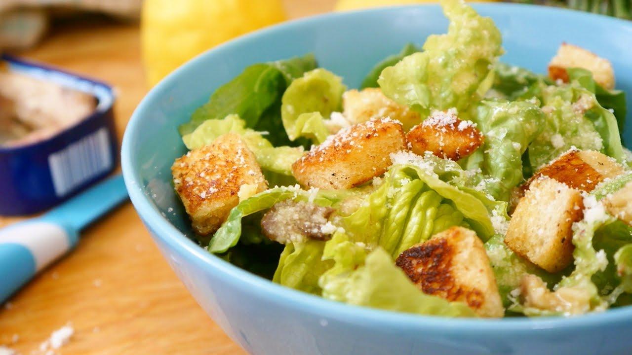 Resep Cara Membuat Salad Caesar Amerika Klasik