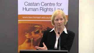 The human right against social deprivation (presented by Associate Professor Kimberley Brownlee)""