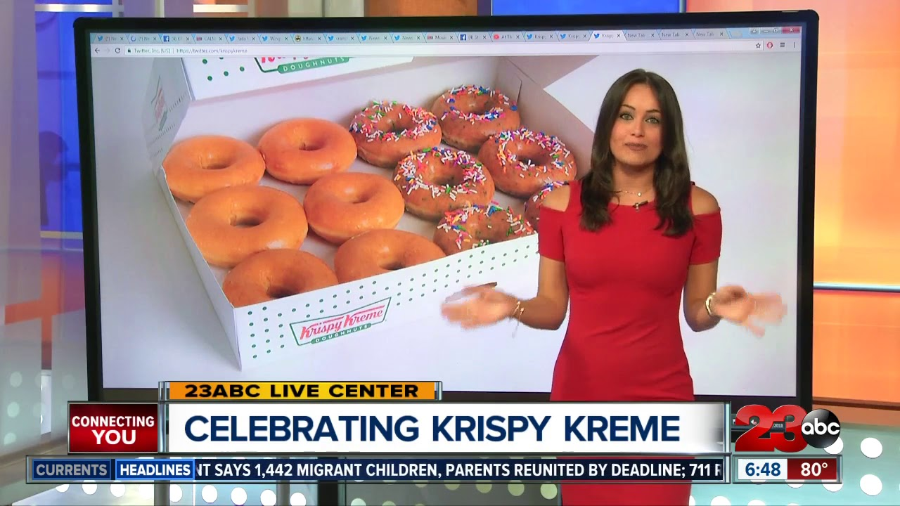 It's Krispy Kreme's birthday. Here's how to score a dozen doughnuts for $1