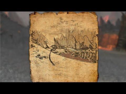 Stonefalls Treasure Map VI Location Elder Scrolls Online - YouTube