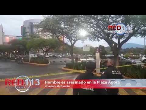VIDEO Identifican a joven muerto a balazos en el estacionamiento de Plaza Ágora