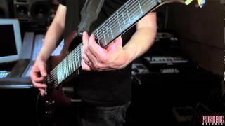 "Tempel - ""Carvings In The Door"" Guitar Playthrough"