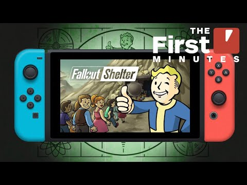 The First 15 Minutes Of Fallout Shelter Gameplay On Nintendo Switch