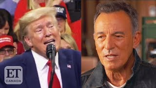 """After bruce springsteen criticized donald trump, sangita patel and morgan hoffman react on """"et canada live""""subscribe to our channel:https://www./u..."""