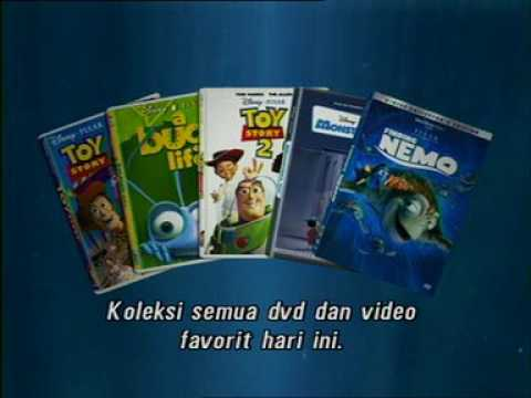 Opening to Finding Nemo 2003 VCD