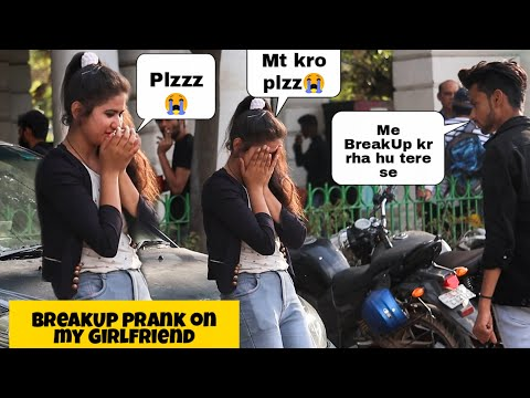 BreakUp Prank On My Cute Girlfriend || Crying Reactions || Ft. Vishant Verma - TPF