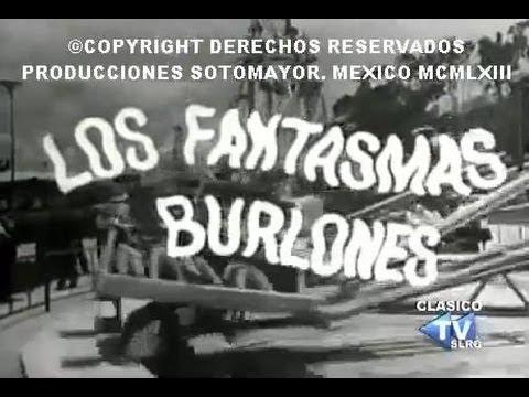 Ver PELICULA – LOS FANTASMAS BURLONES (1963) – (completa) en Español