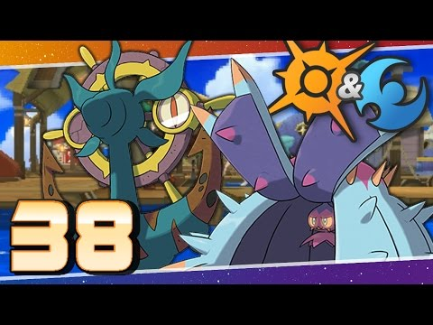 Pokémon Sun and Moon - Episode 38 | The Seafolk Village of Poni Island!