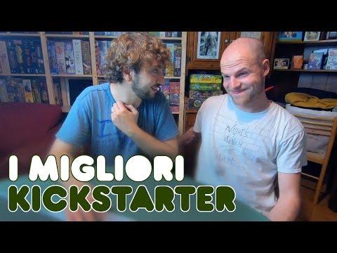 Cerchiamo i MIGLIORI progetti su Kickstarter