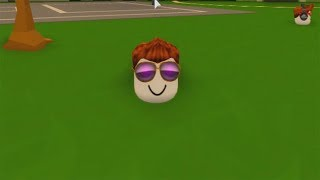 ROBLOX: The OLD MAN WENT TO the WORLD OF FLOATING HEADS-play Old man