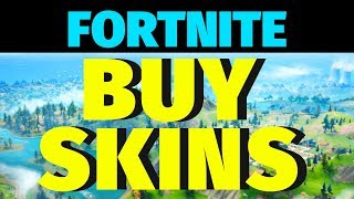 Learn how to buy fortnite skins | Simple guide for beginners |Hints, Tips, Tricks