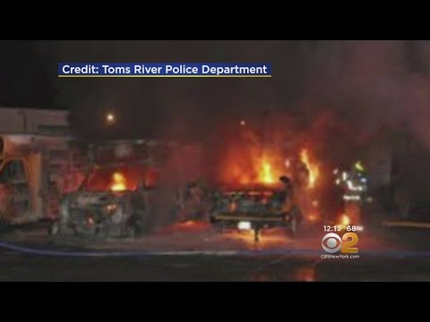 Fire Destroys 3 School Buses In Toms River
