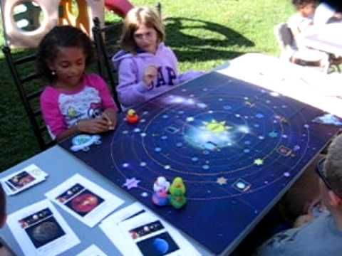 Solar System Games and Activities for Girls Scout Silver Award