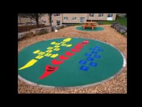 Playground Flooring Backyard Playground Flooring Ideas Best