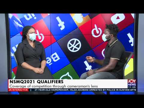 NSMQ2021 Qualifiers: Coverage of competition through cameraman's lens - JoyNews Interactive(11-6-21)