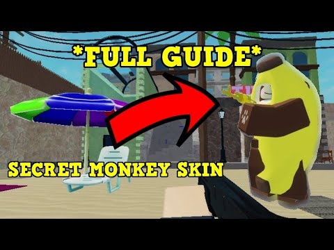 [FULL GUIDE] HOW TO GET THE SECRET MONKEY SKIN IN ARSENAL!