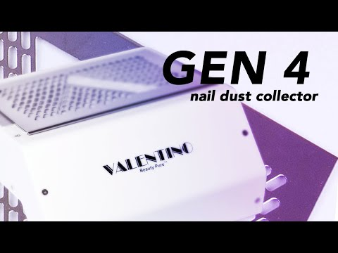 Nail Dust Collector | GEN 4 Source Capture System Tutorial | Valentino Beauty Pure thumbnail
