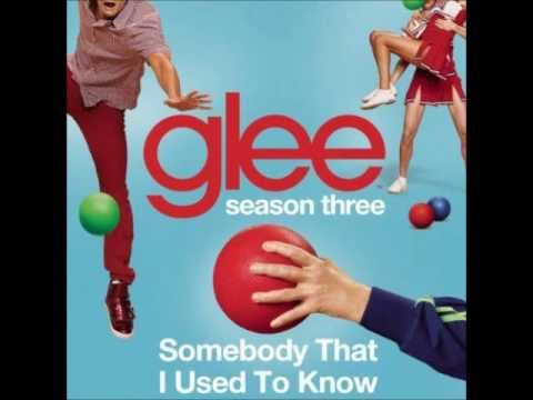 Glee  Somebody That I Used To Know DOWNLOAD MP3 + LYRICS