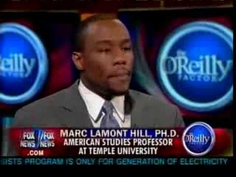 Marc Lamont Hill gets into it with OReilly