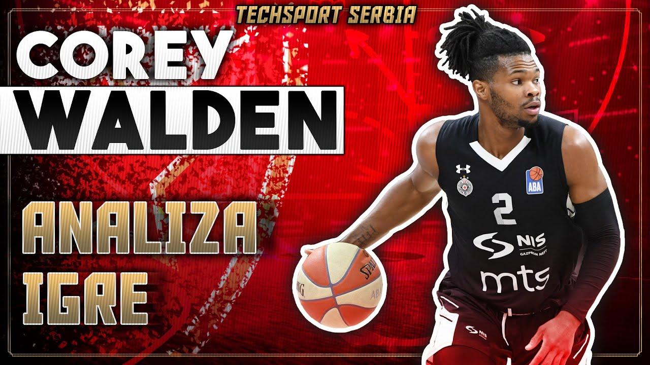 Corey Walden - Analiza igre | KK Crvena zvezda 2020/21