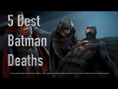 The 5 Best Deaths Of The Batman