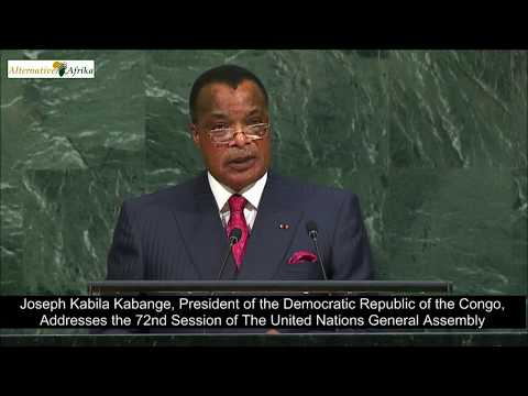 Democratic Republic of Congo - President Addresses the 72nd session of the United Nations Assembly