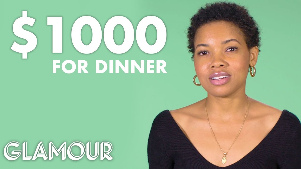 Women of Different Salaries on the Most They Would Spend on Dinner | Glamour