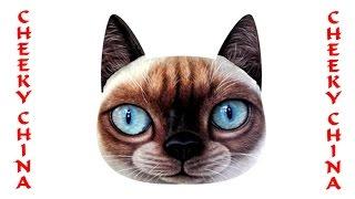 3D подушка с принтом / браслет из Китая / 3D кот наволочка / 3 D кот