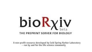 bioRxiv The Preprint Server for Biology