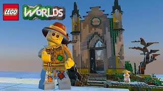 Lego worlds monster chapel brick build (monsters dlc coming soon!)