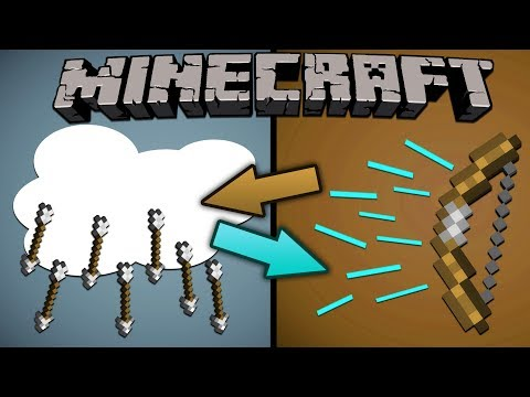 If Rain and Arrows Switched Places - Minecraft